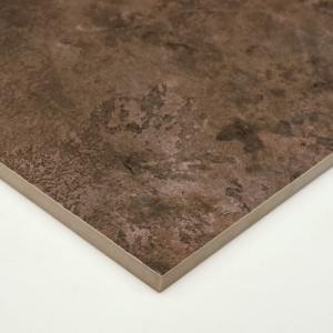 タイル 600角 内装壁床・外装壁用 セラミカロック ダークブラウン (GT60203M)|good-tile