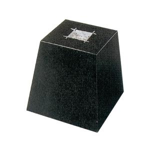 御影石 角型・束石/沓石(黒・5寸)(KTB5)|good-tile