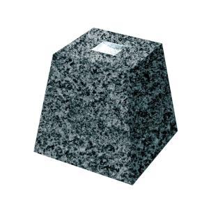御影石 角型・束石/沓石(グレー・4寸)(KTG4)|good-tile