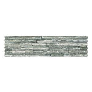 石材 割肌石 外壁・内壁用 ナチュラルボーダー シャープタイプ(グリーン)(NBP02) good-tile