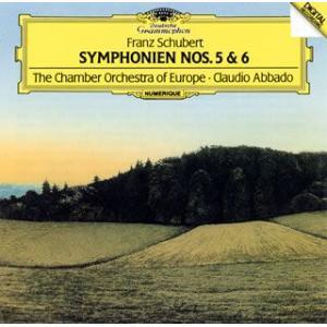 【メール便送料無料】シューベルト:交響曲第5番&第6番 アバド / ヨーロッパco.(CD)(2013/6/26)