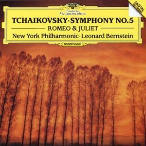 チャイコフスキー:交響曲第5番 / 幻想序曲「ロメオとジュリエット」 バーンスタイン / NYP[C...