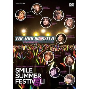 THE IDOLM@STER 6th ANNIVERSARY SMILE SUMMER FESTIV@L  DVD BOX 3枚組