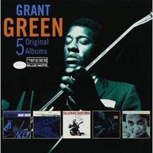Grant Green / 5 Original Albums (Box) (輸入盤CD)(2018/8/31発売)(グラント・グリーン) good-v