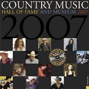 カントリー・ミュージック・ホール・オブ・フェイム (2007年カレンダー) (X) (M)|good-v
