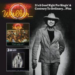 【メール便送料無料】Jerry Jeff Walker / It's A Good Night For Singin& Contrary To Ordinary(輸入盤CD)(2013/11/19)(ジェリー・ジェフ・ウォーカー)