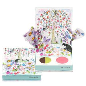 PAUL & JOE ポール & ジョー フェイス & アイ カラー CS #100 春の蝶たち