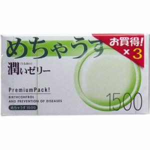 めちゃうす コンドーム 1500×3個パック ★メール便可能...