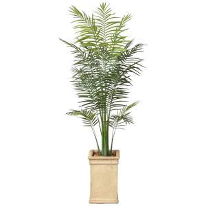 造花 観葉植物 「トロピカル・アレカパーム 200cm」 光触媒(空気浄化) インテリア・グリーン FRP製高級鉢仕様|goodfellow