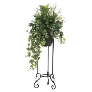 観葉植物 造花 グリーン「グリーンスタンド アイビー 110cm」光触媒 空気清浄 インテリア植物 スタンドグリーン 18 goodfellow