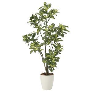 造花 観葉植物 「シェフレラ 115cm」 光触媒 空気清浄 インテリア グリーン 49|goodfellow