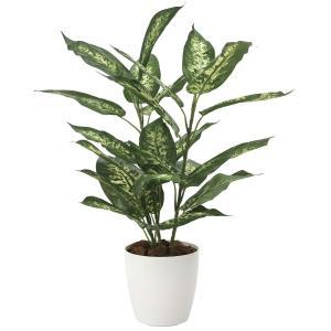 造花 観葉植物 「ディフェンバキア 62cm」 光触媒 空気清浄 インテリアグリーン 57|goodfellow