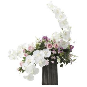 造花 アートフラワー 和風アレンジ「 飛鳥 」  光触媒(空気清浄) インテリア植物 84|goodfellow