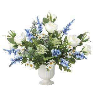 造花 アートフラワー アレンジ「セレナスター」光触媒 空気清浄 インテリア植物 85|goodfellow