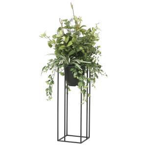 観葉植物 造花 グリーン「グリーンスタンド ミックス 110cm」光触媒 空気清浄 インテリア植物 スタンドグリーン 18 goodfellow