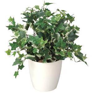 造花 観葉植物 「ホーランドアイビー 40cm」 光触媒 空気清浄 インテリアグリーン 61|goodfellow