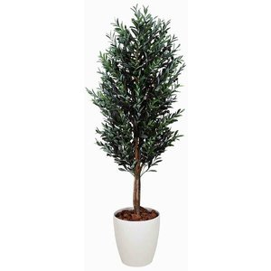造花 観葉植物 光触媒 インテリアグリーン 鉢植え /オリーブ180cm 149B65025|goodfellow