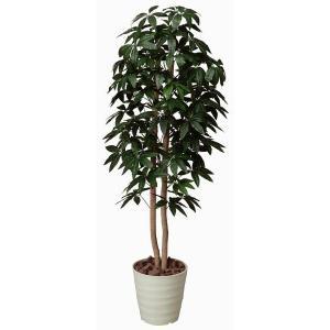 インテリアグリーン 造花 光触媒 人工植物 観葉植物 鉢植え /パキラツリー160cm 170A30014|goodfellow
