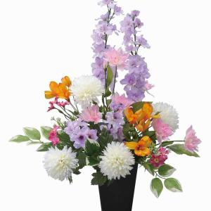 仏壇 供花 光触媒 造花の仏花アレンジ みやび |goodfellow