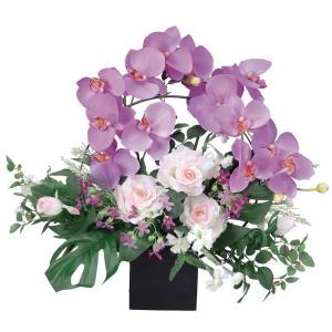造花 アートフラワー 和風アレンジ「 舞華 」  光触媒(空気清浄) インテリア植物 84|goodfellow