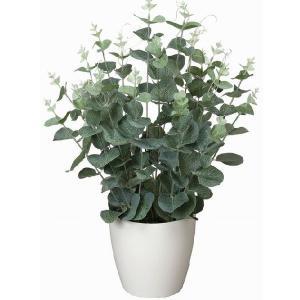 造花 光触媒 観葉植物 人工植物 グリーン /ユーカリ 42cm|goodfellow