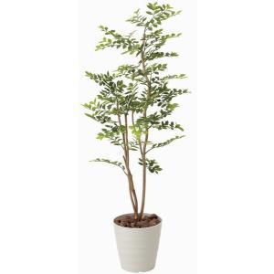 造花 観葉植物 光触媒 インテリアグリーン 鉢植え /ゴールデンリーフ 125cm|goodfellow