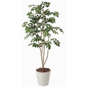 造花 観葉植物 光触媒 インテリアグリーン 鉢植え /マウンテンアッシュ 130cm|goodfellow