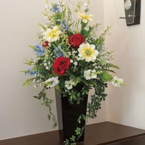 造花 アートフラワー アレンジ 光触媒(空気清浄) /グランディア 456A200-6917|goodfellow