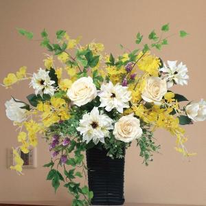 造花 アートフラワー 光触媒 アレンジ /ツイン・ソフトローズ A12061|goodfellow