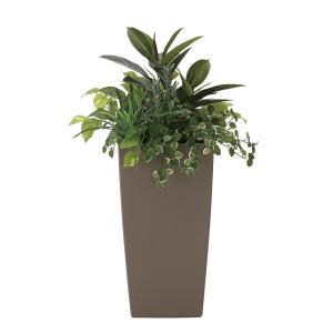 観葉植物 造花 グリーン「植栽アート-L ラベンダー」光触媒 空気清浄 インテリア植物 スタンドグリーン 19 goodfellow