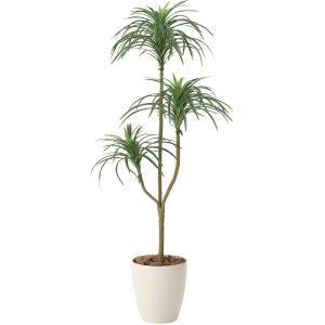 造花・観葉植物 /ユッカ130cm 612A15037-16 光触媒(空気浄化)  インテリア・フェイク鉢植え|goodfellow