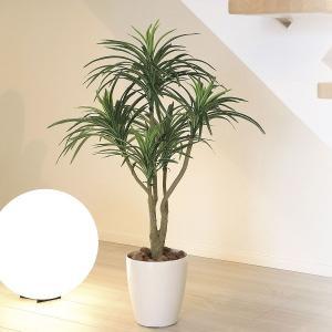 造花・光触媒(空気浄化) 観葉植物 インテリア・フェイク鉢植え /ユッカ 90cm 622A14040-16|goodfellow