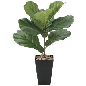 造花・観葉植物/カシワバゴム50cm 光触媒(空気浄化)  インテリア・フェイク鉢植え  638A4545-16|goodfellow