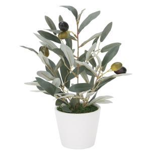 造花 観葉植物 「ミニオリーブ30cm」 光触媒 空気清浄 インテリアグリーン 61|goodfellow