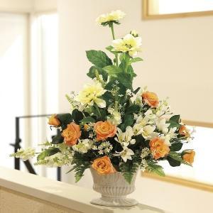 造花 アートフラワー アレンジ /シュナーベル 光触媒 空気清浄 インテリア植物|goodfellow