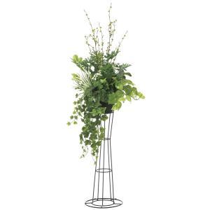 観葉植物 造花 グリーン「グリーンスタンドST 145cm」光触媒 空気清浄 インテリア植物 スタンドグリーン 18 goodfellow