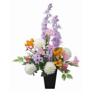 仏壇 供花 光触媒 造花の仏花アレンジ みやび あすつく 送料無料|goodfellow