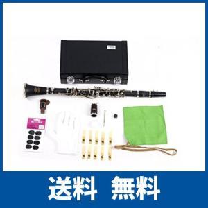 【仕様】調子:B♭ 管体:ABS製 キィ:洋白製、ニッケルメッキ仕上げ システム : 17キー 入門...
