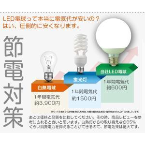 ポイント5倍 GOODGOODS LED電球 E26 12W 100W形相当 昼白色 ledライト ランプ 広角 天井照明 照明器具 省エネ 一年保証|goodgoods-1|04