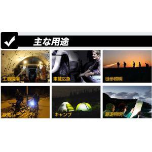 懐中電灯 LED 強力 充電式 懐中電灯 LEDライト フラッシュライト ズーム機能 米国 CREE 電池2本付 釣り 防災 作業用ライト 地震・災害対策 ED90|goodgoods-1|05