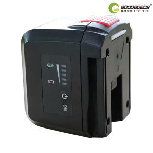着脱式バッテリー 充電式 電池 4400mAh 充電式LED投光器 GH40-L GH40-S 専用 充電式バッテリー オリジナル GH-4400A|goodgoods-1