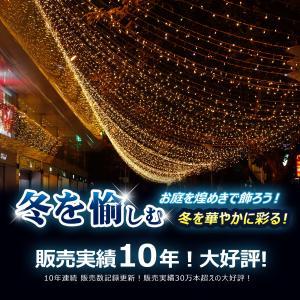 商品名:LEDイルミネーション 品番:LD55 LED数:500球(連結可能) 全長:30M LED...