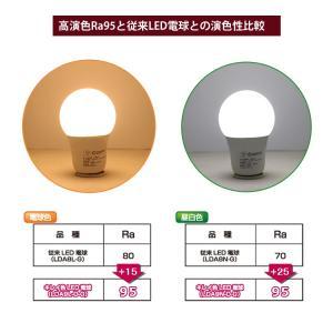 LED電球 E26 60W形相当 一般電球形 昼白色 電球色 広配光 照明器具 天井 密閉型器具対応 消費電力 9W 2年保証 GOODGOODS|goodgoods-1|05