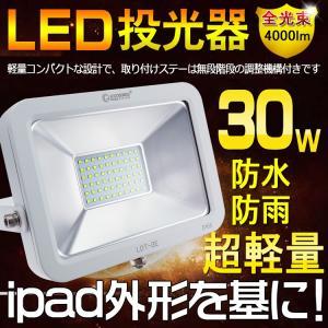 商品名:30WLED投光器(GOODGOODS) 品番:LDT-3E 製造元:グッド・グッズ 消費電...