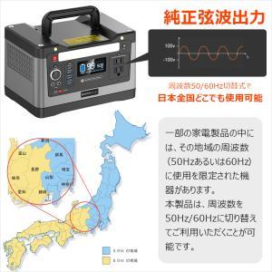 非常用 防災 台風対策 ポータブル電源 蓄電池 大容量 540Wh 50Ah 150000mAh 家庭用発電機 純正弦波 電気毛布 車中泊 停電対策 SPI-54AT|goodgoods-1|09