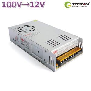 AC DC コンバーター AC100V→DC24V 15A 直流安定化電源 電圧変換器 変圧器 AC/DC コンバーター 24V GOODGOODS goodgoods-1