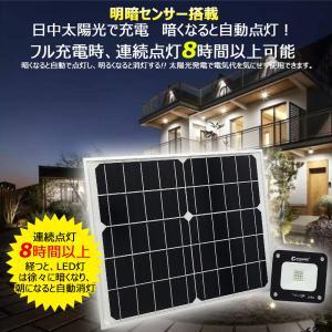 ソーラー投光器 LED 屋外 電池交換式 充電式 LED投光器 10W ソーラーライト スポットライ...