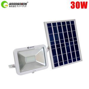 新発売 LED投光器 充電式 30w ソーラーライト 屋外 ...