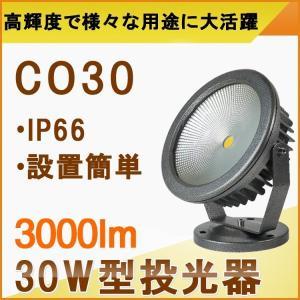 一年保証 LED投光器 30W 300W相当 投光器 スタンド 屋外照明 LEDライト 作業灯 防犯 駐車場灯 ガーデンライト 看板照明 庭照明 昼光色/電球色|goodgoods-2