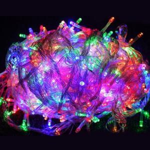 ハロウィン LEDイルミネーション クリスマス 500球 30m 電飾 デコレーション 防滴型 電飾 屋外用 パーティー 看板照明 LEDライト 4色可選 ld55|goodgoods-2